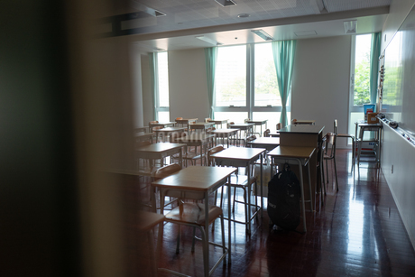 学校の教室の写真素材 [FYI01220982]