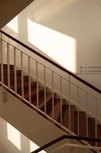 学校の階段の写真素材 [FYI01220985]