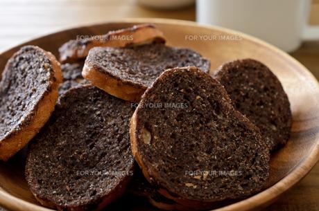 チョコレートラスクの写真素材 [FYI01221384]