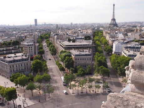 凱旋門からの眺めの写真素材 [FYI01222233]