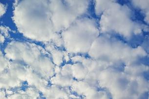 横位置の隙間雲の写真素材 [FYI01222240]