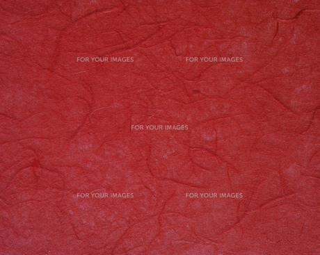 暗い赤色のすき紙のテクスチャーの写真素材 [FYI01222255]