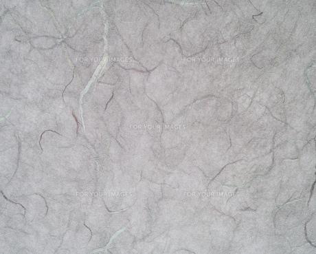 模様が入った灰色のすき紙のテクスチャーの写真素材 [FYI01222259]