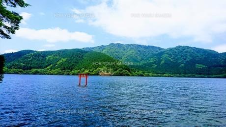 芦ノ湖の写真素材 [FYI01222564]