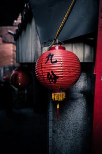 台湾の九份の風景の写真素材 [FYI01222687]