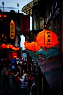 台湾の九份の風景の写真素材 [FYI01222689]