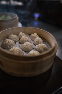 台北の小籠包の写真素材 [FYI01222691]