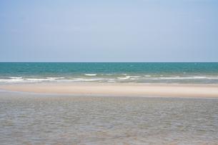フアヒンの海辺 タイランド hua hin Thailandの写真素材 [FYI01222742]