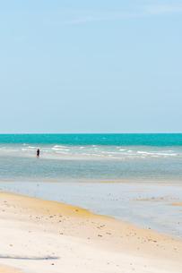 フアヒンの海辺 タイランド hua hin Thailandの写真素材 [FYI01222746]
