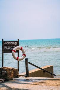 フアヒンの海辺 タイランド hua hin Thailandの写真素材 [FYI01222748]
