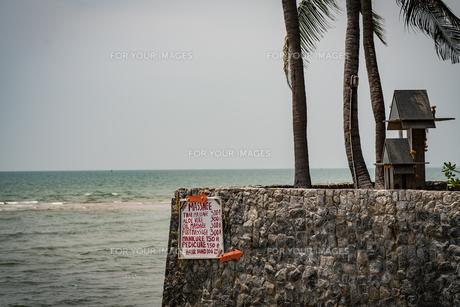 フアヒンの海辺 タイランド hua hin Thailandの写真素材 [FYI01222749]