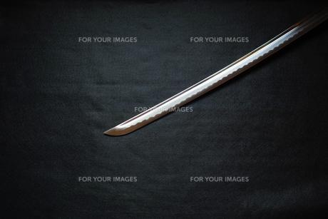 居合練習刀の刀身の写真素材 [FYI01222838]