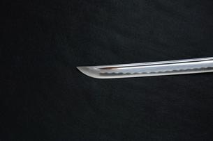 居合練習刀の切先の写真素材 [FYI01222839]