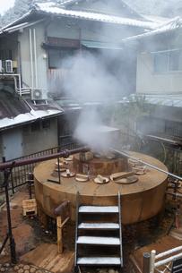 有馬温泉 御所泉源の写真素材 [FYI01222878]