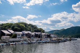 兵庫県たつの市 室津漁港の写真素材 [FYI01223050]