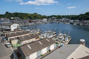兵庫県たつの市 室津漁港の写真素材 [FYI01223054]