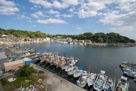 兵庫県たつの市 室津漁港の写真素材 [FYI01223055]