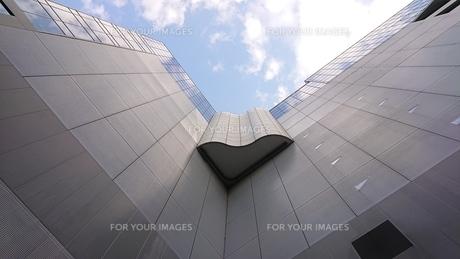 空と角とデザインの写真素材 [FYI01223338]