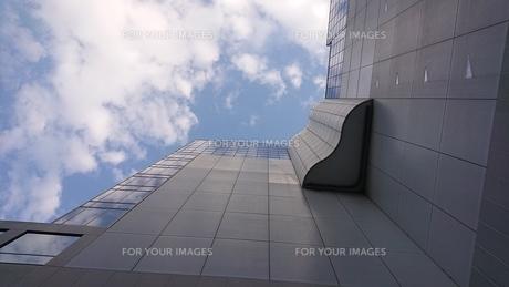 空と角とデザインの写真素材 [FYI01223339]
