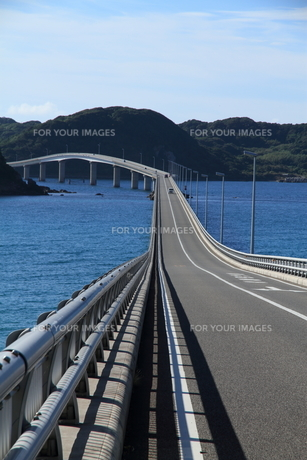 角島大橋の写真素材 [FYI01223510]