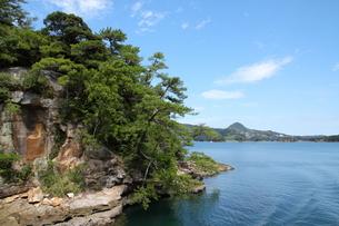 九十九島遊覧の写真素材 [FYI01223513]