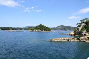 九十九島遊覧の写真素材 [FYI01223514]