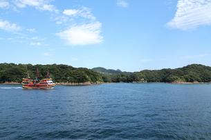 九十九島遊覧の写真素材 [FYI01223515]