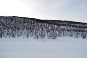 雪国の情景の写真素材 [FYI01223597]