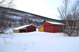 雪国の情景の写真素材 [FYI01223669]