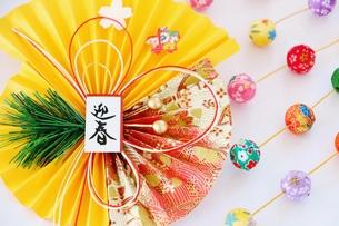 迎春飾りの写真素材 [FYI01223866]