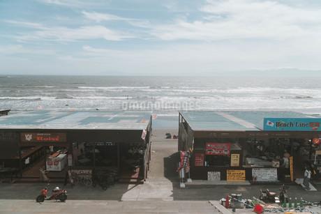 海の家の写真素材 [FYI01224014]