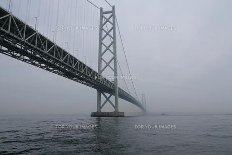 明石海峡大橋の写真素材 [FYI01224094]