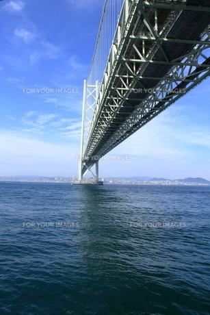 明石海峡大橋の写真素材 [FYI01224099]