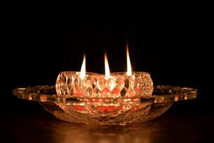 宮古島/ろうそくの灯りの写真素材 [FYI01224526]