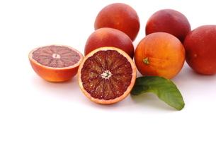ブラッドオレンジの写真素材 [FYI01224871]