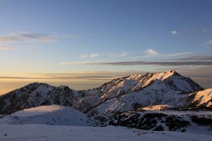 室堂から見た奥大日岳、大日岳の写真素材 [FYI01225339]