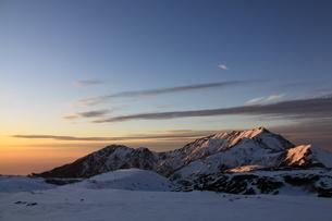室堂から見た奥大日岳、大日岳の写真素材 [FYI01225363]