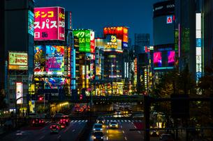 新宿大ガードの写真素材 [FYI01225859]