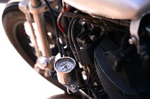 バイクのエンジンの写真素材 [FYI01225971]