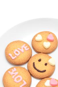 バレンタインのクッキーの写真素材 [FYI01226541]
