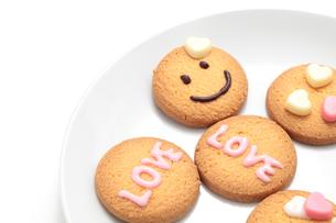 バレンタインのクッキーの写真素材 [FYI01226542]