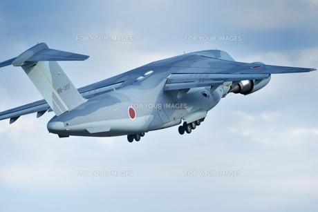 航空自衛隊のC-2輸送機の写真素材 [FYI01226599]