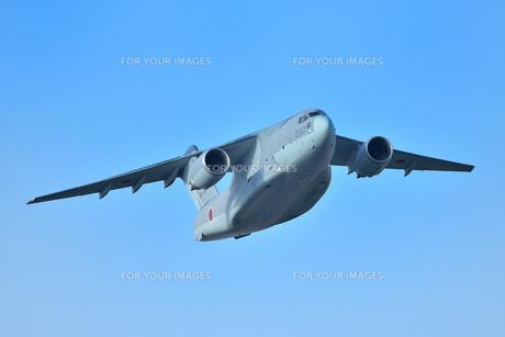 航空自衛隊のC-2輸送機の写真素材 [FYI01226600]