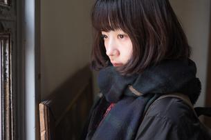 放課後の女子高生の写真素材 [FYI01226619]