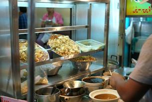 バンコクの中華街で販売されているフカヒレの写真素材 [FYI01226723]