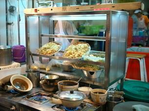 バンコクの中華街で販売されているフカヒレの写真素材 [FYI01226730]