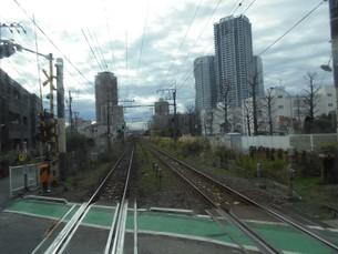 南武線の線路の写真素材 [FYI01226961]