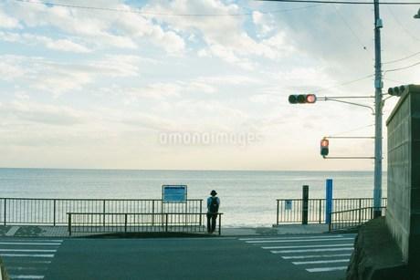 海を見る人の写真素材 [FYI01227022]