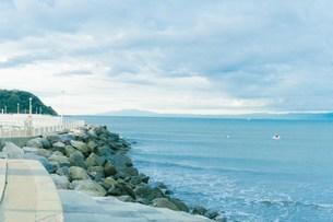 朝の海の写真素材 [FYI01227025]