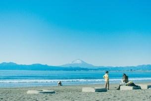 海と富士山2の写真素材 [FYI01227089]
